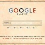 Google vintage