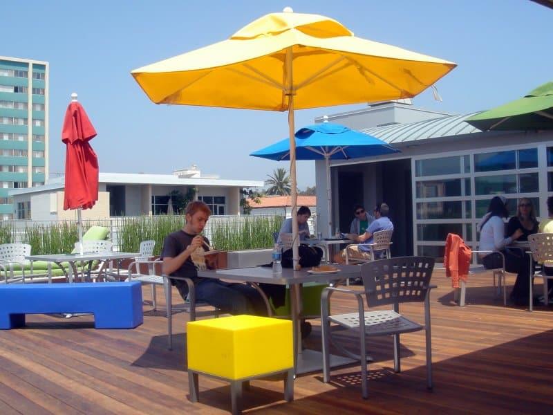 Une autre terrasse mais cette fois-ci à Santa Monica (USA).