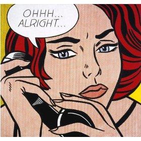 """""""Ohhh... Alright..."""" 1964 - Roy Lichtenstein"""