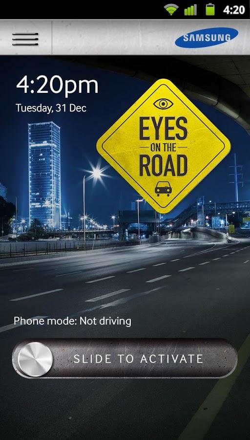 Capture écran de l'application.