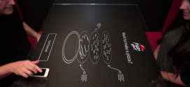 Pizza Hut teste une table interactive pour ses restaurants