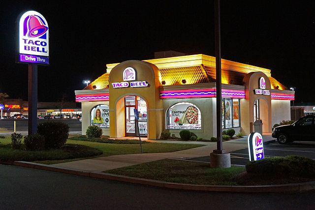 Un point de vente Taco Bell.