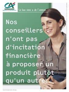 Le 2 en 1 du logo Crédit Agricole : origine paysanne (nature) et acteur bancaire (argent).