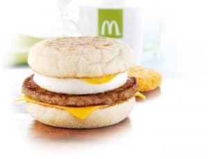 Le Egg McMuffin de McDonald's.