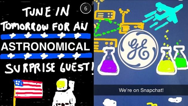 Snapchat General Electric