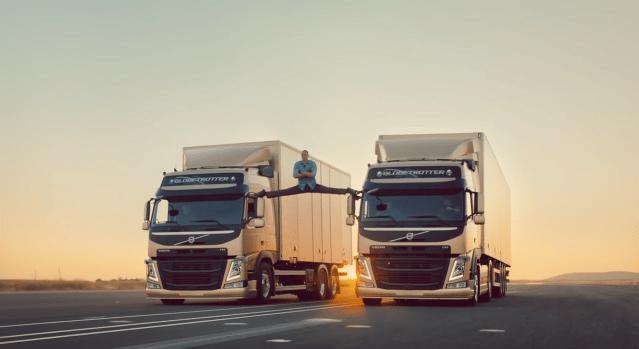 """Volvo Trucks et l'esprit """"aware"""" de JCVD : une combinaison qui s'est révélée très efficace"""