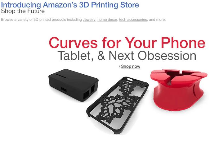 Amazon: impression 3D