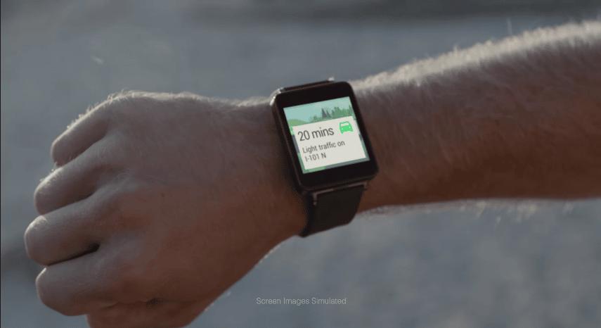 Android wear Montre connectée Google