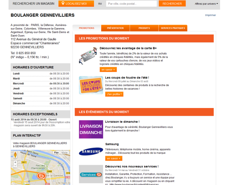 web-to-store : le destockage