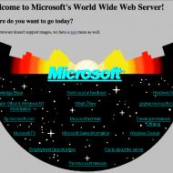 Microsoft.com 1994 une