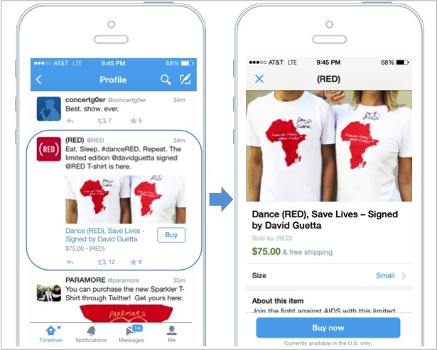 Buy Now Tweet ecommerce