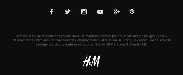 social media optimization interne H&M