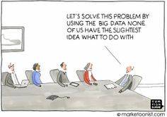 Big Data humour illustration
