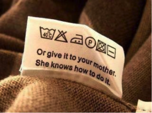 "Etiquette ""or give it to your mother"""