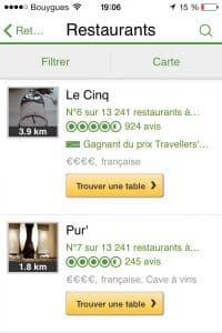 TripAdvisor+La Fourchette