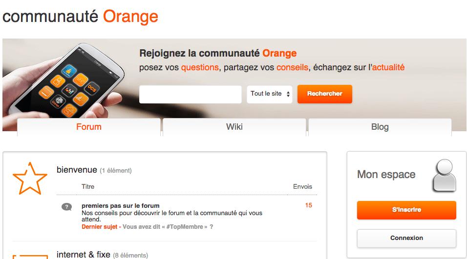 orange-communauté