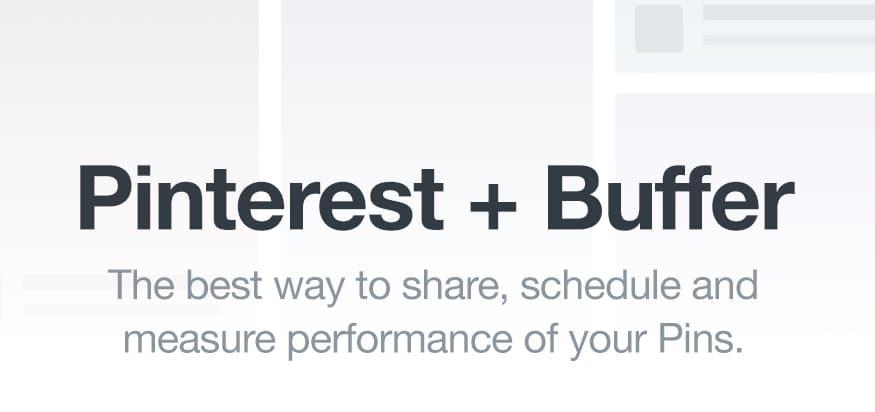 Buffer pour Pinterest