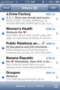 emojis en objet d'email