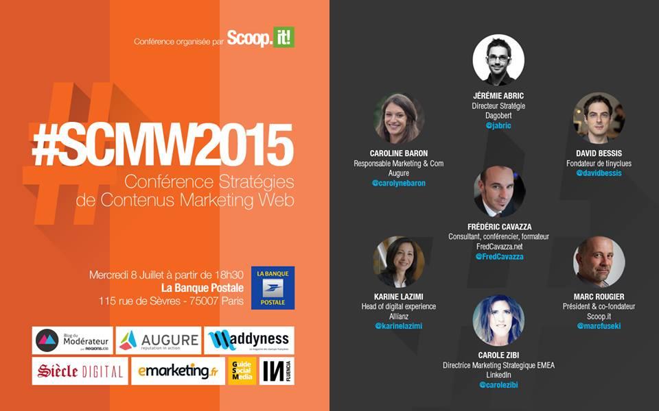 scoop.it conférence sur les stratégies contenus marketing web