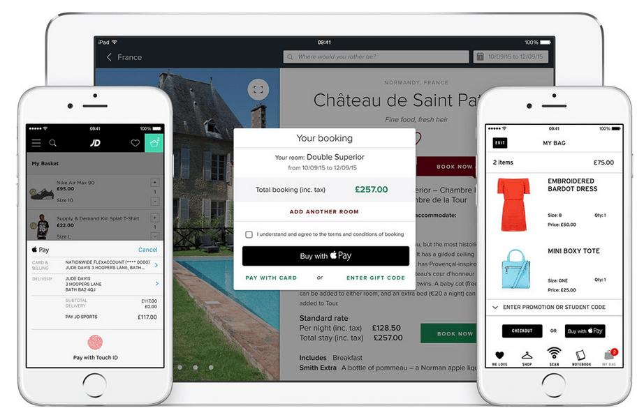Fonction Apple Pay sur un site ecommerce