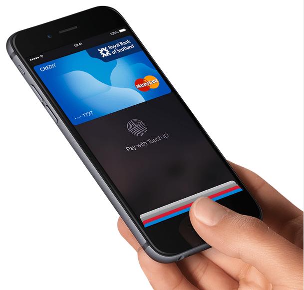 Apple Pay sur iPhone 6