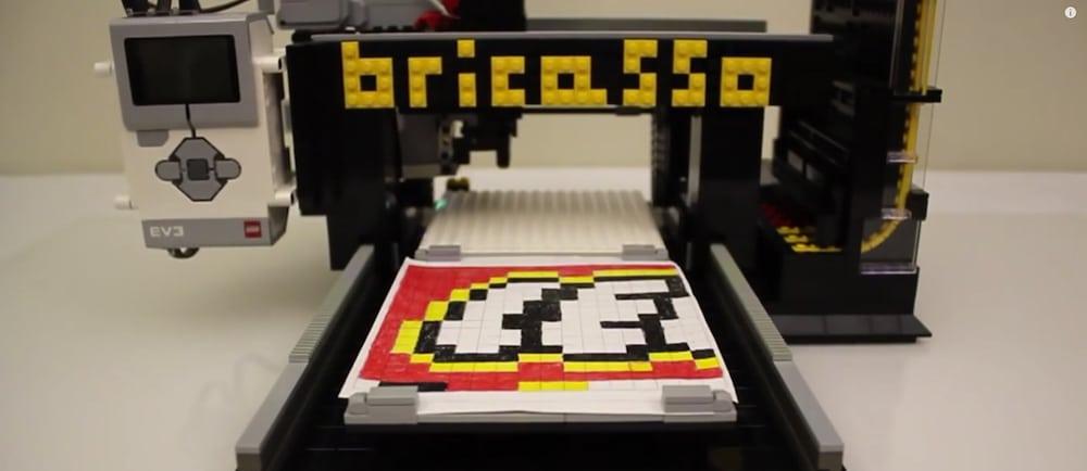 Bricasso imprimante 3D lego 2