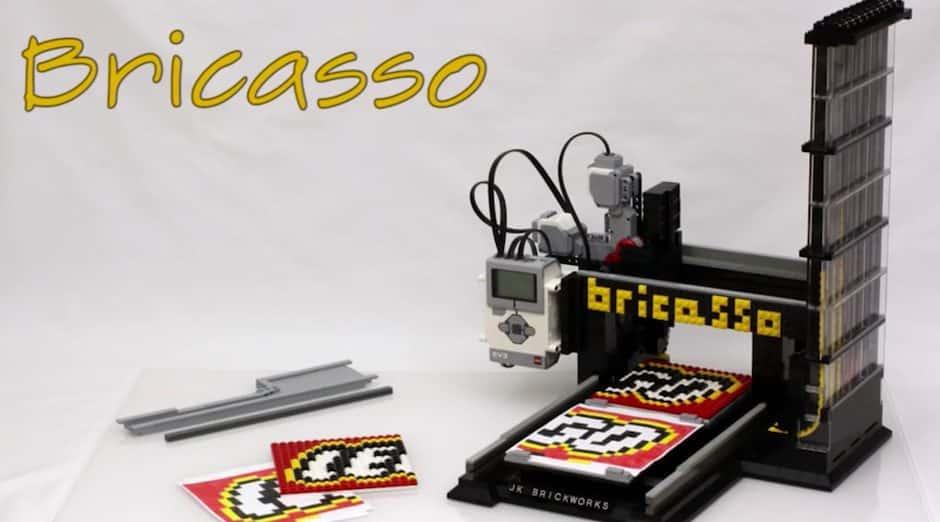 Bricasso imprimante 3D lego