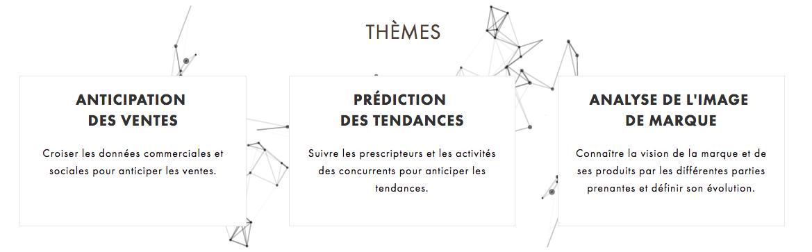 Thèmes du challenge Louis Vuitton Hackathon « Unlock Luxury »