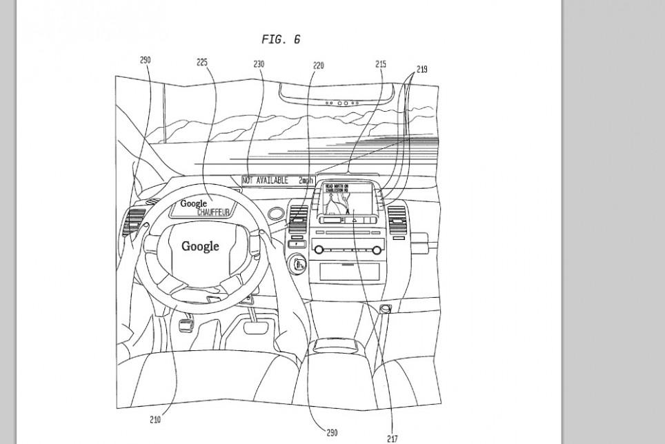 Google Car brevet