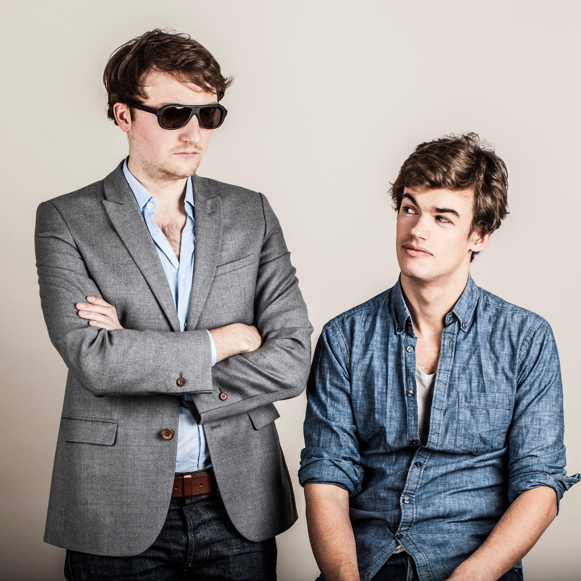 Les fondateurs de Bonnegueule, Benoît Wojtenka et Geoffrey Bruyere