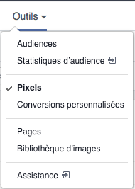 facebook ads page pixel audience