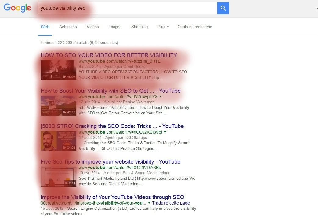 Youtube améliore votre référencement naturel