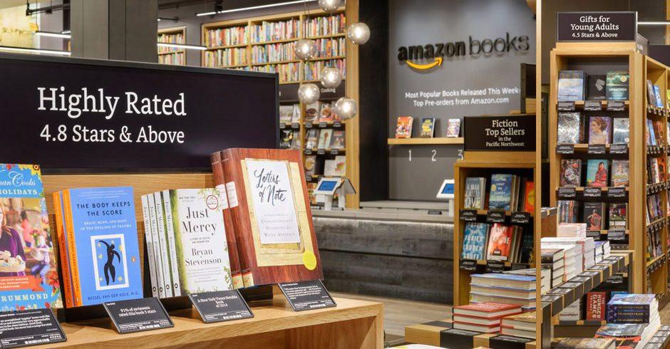 amazon books librairie Seattle