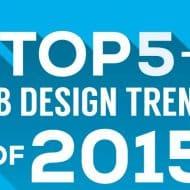 5 tendances webdesign 2015