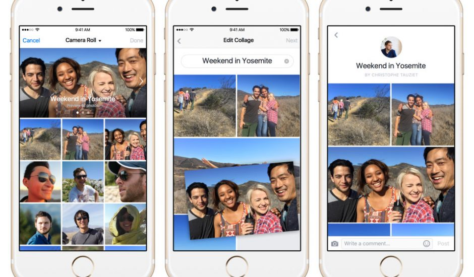 Facebook Collage album photo