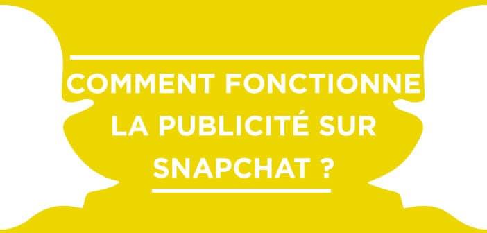 Publicité sur Snapchat