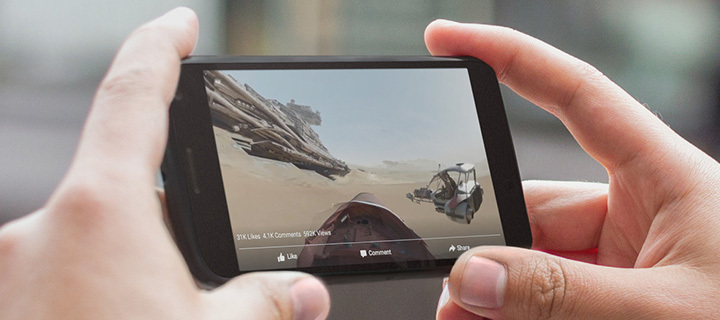vidéos 360 facebook
