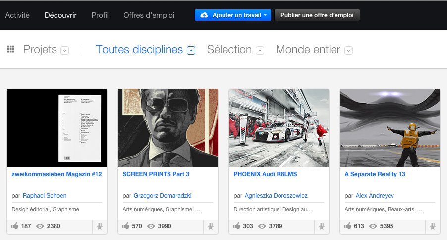 behance-featured-projects