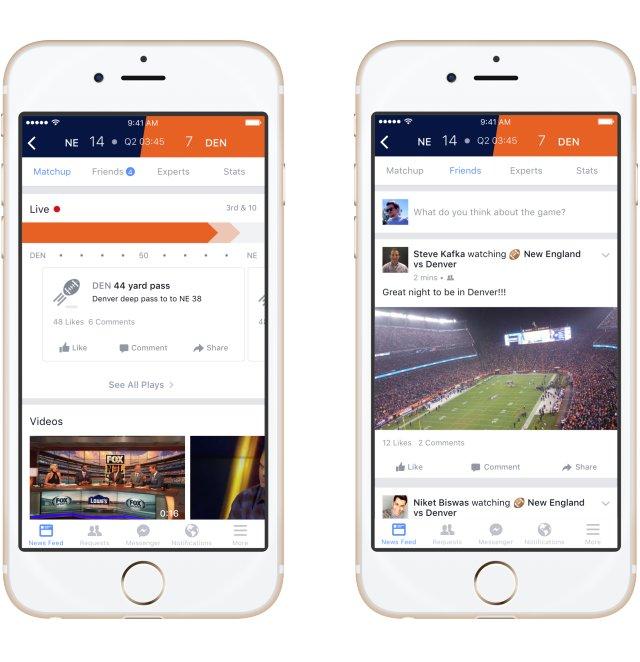 Facebook Sports Stadium aperçu 1