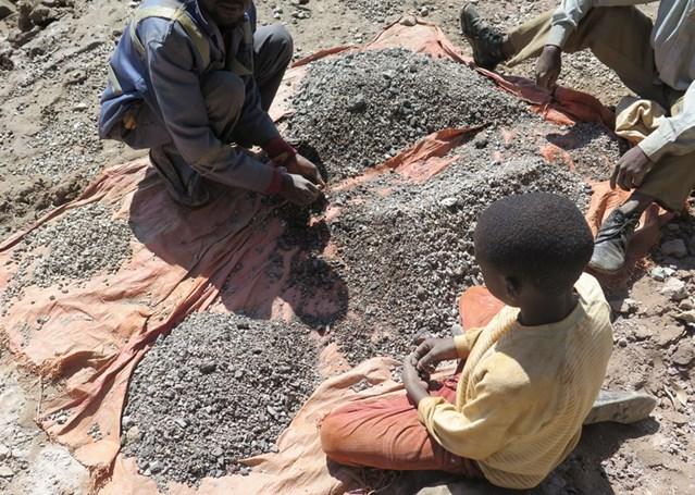 travail des enfants mine de cobalt congo