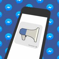 facebook messenger publicite
