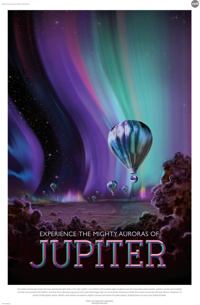 Affiche Nasa Jupiter