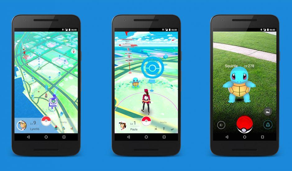 Pokemon Go images gameplay