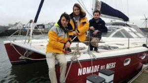 nomade des mers au depart de concerneau