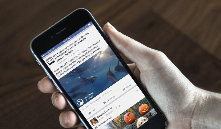 Facebook 360 Video : les exemples avec la nature