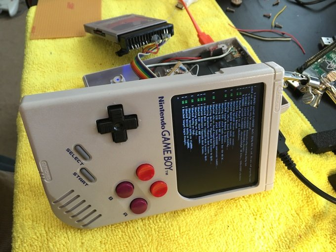 Game Boy Zero Wermy 12
