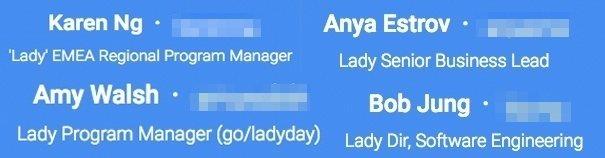 Lady Day Google