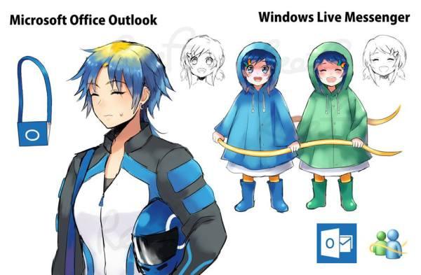 logiciels-outlook-windows-live-messenger