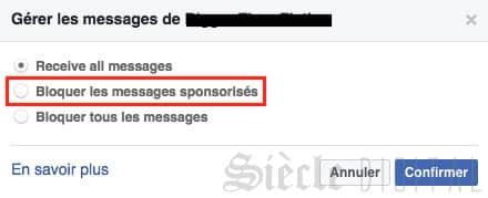 messange sponsorise facebook messenger