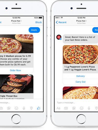 chatbot pizza hut